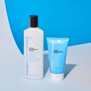 Peter Thomas Roth - Sivilceli Ciltler için Temizleyici. Acne Clearing Wash 250 ml (1)
