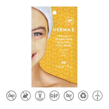 Derma E - C Vitaminli Brightening Clay Kil Maskesi - 10 gr.