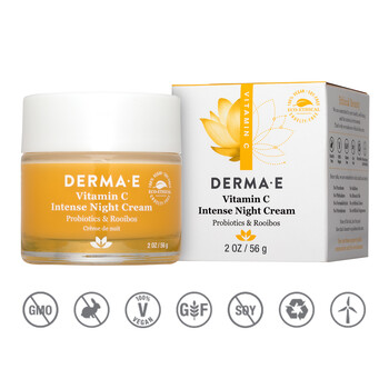 Derma E - Vitamin C Intense Night Cream 56 gr. - C Vitaminli Gece Kremi