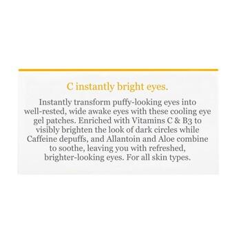 Bright Eyes Hydro Gel Eye Patches 60 adet - C Vitaminli Göz Pedi - Thumbnail