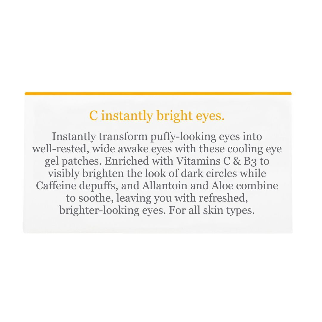 Bright Eyes Hydro Gel Eye Patches 60 adet - C Vitaminli Göz Pedi