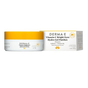 Derma E - C Vitaminli Göz Pedi - 60 adet. Bright Eyes Hydro Gel Eye Patches