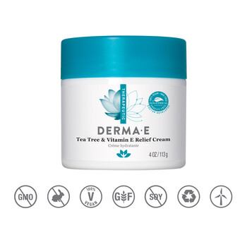 Derma E - Çay Ağacı & E Vitaminli Krem - 113 gr. Tea Tree & Vitamin E Relief Cream