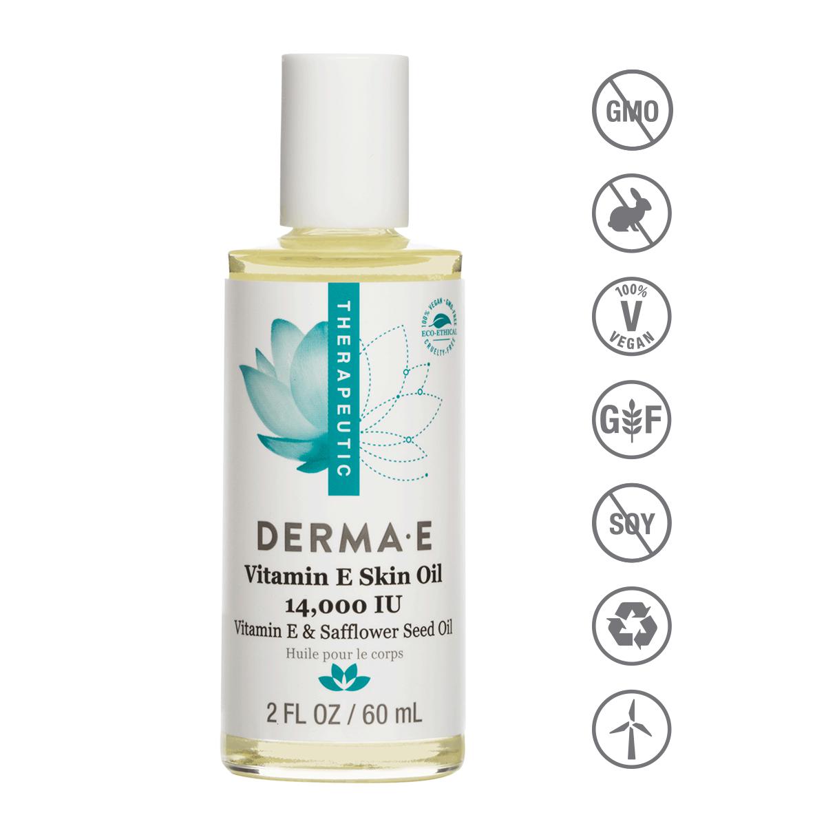 Derma E - E Vitaminli Yağ - 60 mL. Vitamin E Skin Oil 14,000 IU