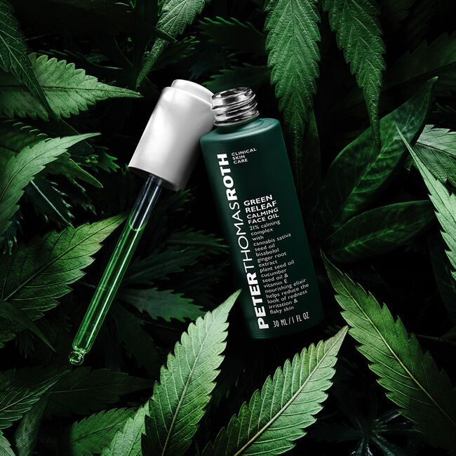 Peter Thomas Roth - Green Releaf Calming Face Oil 30 ml.