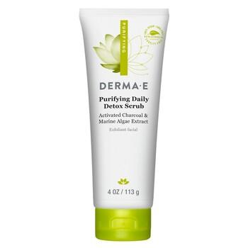 Derma E - Karma Ciltler için Peeling - 113 gr. Purifying Daily Detox Scrub