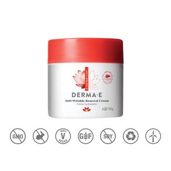 Derma E - Kırışıklık Karşıtı Yenileyici Krem - 113 gr. Anti - Wrinkle Renewal Cream