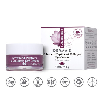 Derma E - Kolajen ve Peptitli Göz Kremi- 14 gr. Advanced Peptides and Collagen Eye Cream
