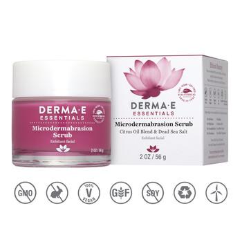 Derma E - Microdermabrasion Scrub - 56 gr. - Siyah Nokta Giderici Peeling