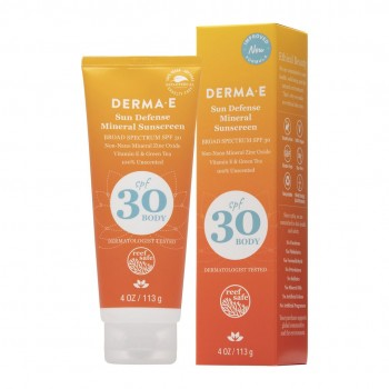 Derma E - Sun Defense Mineral Sunscreen SPF 30 Body - 113 gr.