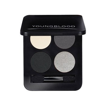 Youngblood - Pressed Mineral Eyeshadow Quad 4'lü Far Paleti 4 gr. (Starlet. Gri Tonlar)