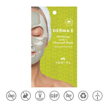 Derma E - Purifying 2si 1 arada Kömür Maskesi - 10 gr.