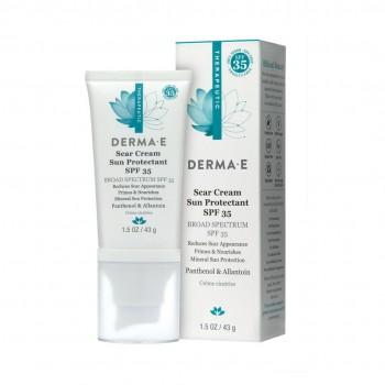 Derma E - Scar Cream Sun Protectant SPF 35 - 43 gr.