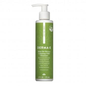 Derma E - Skin De-Stress Calming CBD Cleanser 175 ml - Hassas Ciltler için Temizleyici