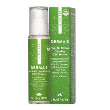 Derma E - Skin De-Stress Calming CBD Serum 60 ml - Hassas Ciltler için Serum
