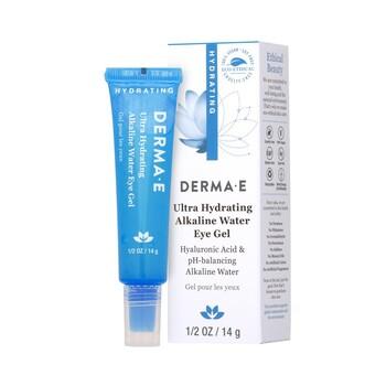 Derma E - Ultra Nemlendirici Alkali Göz Jeli. Ultra Hydrating Alkaline Water Eye - 14 gr.