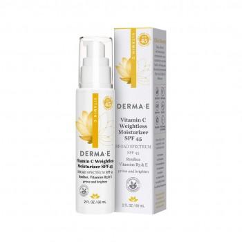Derma E - Vitamin C Weightless Moisturizer SPF 45 - 60 mL